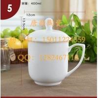 双层保温杯-陶瓷杯子定制-陶瓷盖杯-办公盖杯-商务礼品杯