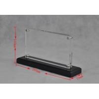 工艺精美亚克力相框 透明双层磁铁亚克力相框定制