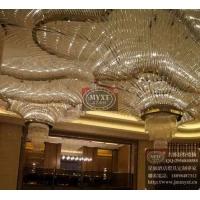 酒店大堂玻璃艺术工程灯具