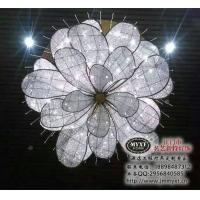 纯手工艺术编织水晶吊灯