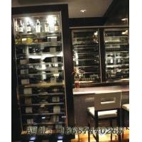 佛山黑镜钢酒柜H001