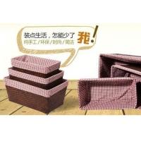室内编织装饰品,收纳盒家居用品