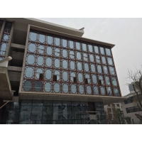 重庆大足医院外墙铝合金窗花