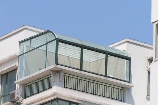 家装品牌国标断桥窗封阳台 阳光房设计混凝土现浇隔层