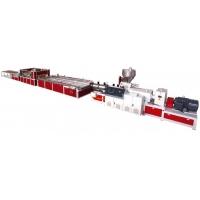 上海金緯機械有PVC木塑發泡門板生產線賣