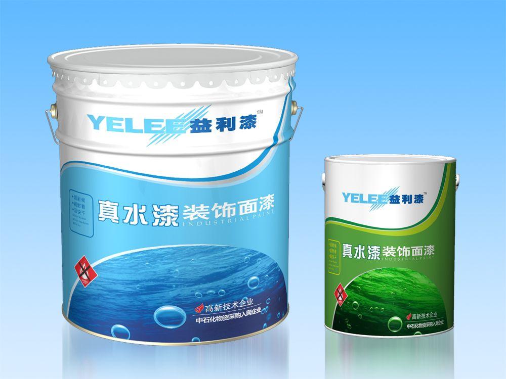 益利油漆 水性丙烯酸面漆 厂家直销