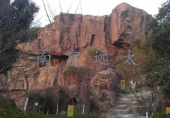 常州市青枫公园GRC塑石假山