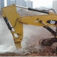 挖掘机单钩改装,岩石臂斗钩,挖掘机改装短臂