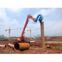 供应挖掘机打桩臂 13.8米打桩16米钢板桩 改装打桩臂