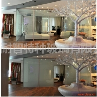 特种玻璃液晶玻璃魔化玻璃电控通电雾化玻璃魔术玻璃调光玻璃