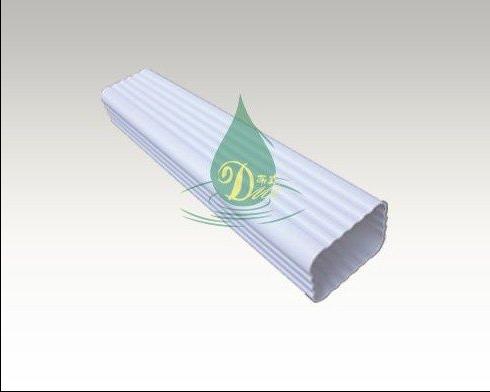 蒂美DMI生产PVC雨水管 外墙排水管 PVC水槽