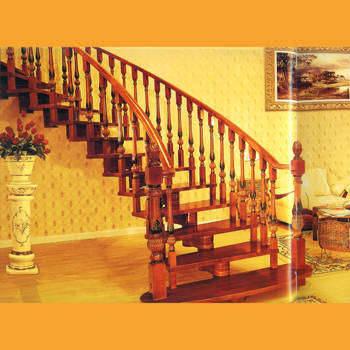 实木楼梯效果图004