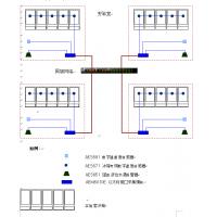 各楼层实验室检疫样品存储冰箱温度集中监测解决方案