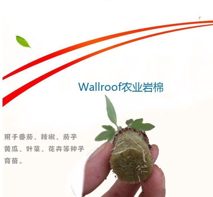 Wallroof农业岩棉 农业多孔纤维棉
