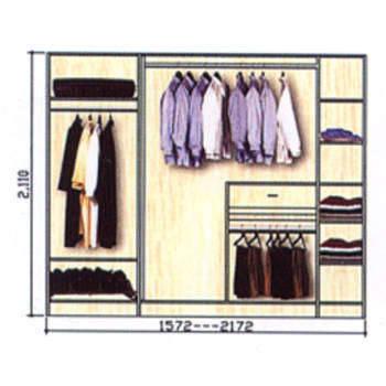 衣柜移动门平面图
