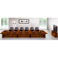 西安会议桌会议室家具会议台圆形会议桌
