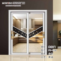 蒙特欧门窗 自主研发 高端铝合金阳台厨房推拉门