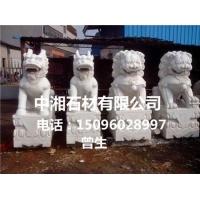 汉白玉品2米狮子石雕