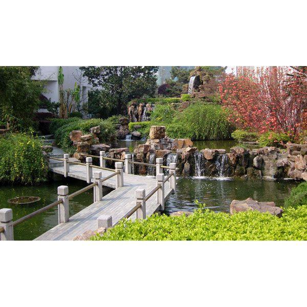 南京园林景观桥-广山园林景观