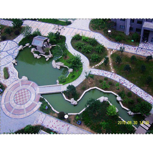 南京园林景观水池-广山园林景观