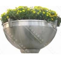 供应不锈钢花盆(SZHP-117)