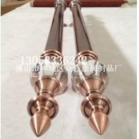 定制欧式红古铜不锈钢水晶球大门拉手