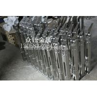 不锈钢工程立柱商场玻璃不锈钢楼梯扶手304立柱