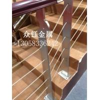 定做304不锈钢楼梯钢板立柱