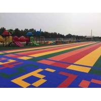 供应惠州幼儿园悬浮式拼装运动地板