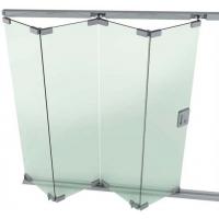 无框玻璃推拉折叠门