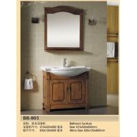 成都宾尼卫浴-实木浴室柜