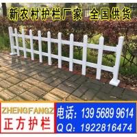 新农村建设草坪绿化 围栏 篱笆 栅栏花园栅栏70*25塑钢p