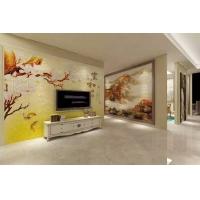 瓷砖背景墙 现代简约客厅电视艺术背景墙仿古砖墙砖 郁香