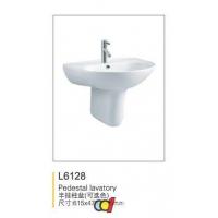 成都申和诚卫浴 半立式柱盆L6128