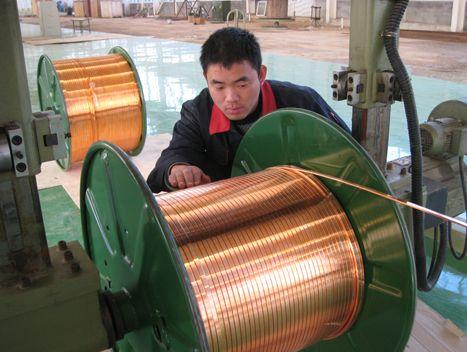 紫铜扁线压延加工,2.5×15mm导电紫铜扁线T1紫铜线 T