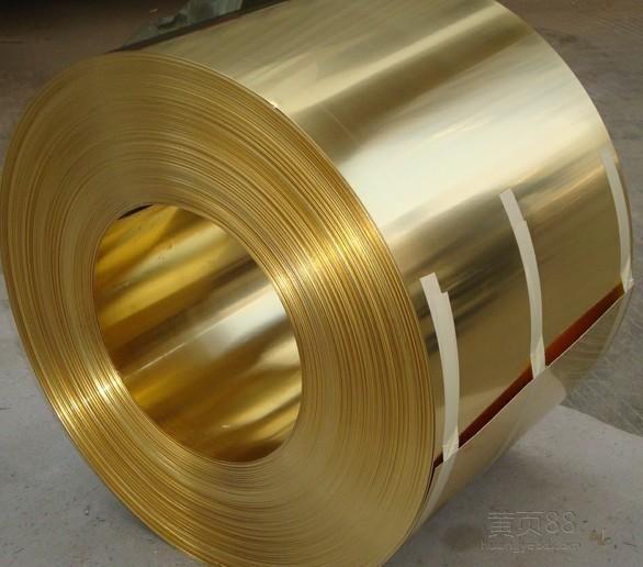T1.4*W60mm冲压黄铜带,C2680半硬黄铜带