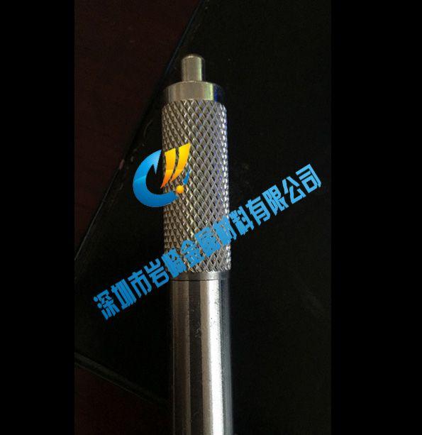 306 304不锈钢网纹滚花棒,12mm直纹拉花不锈钢棒加工