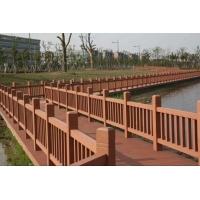 塑木围栏、塑木护栏、木塑扶手、塑木栏杆、木塑护栏