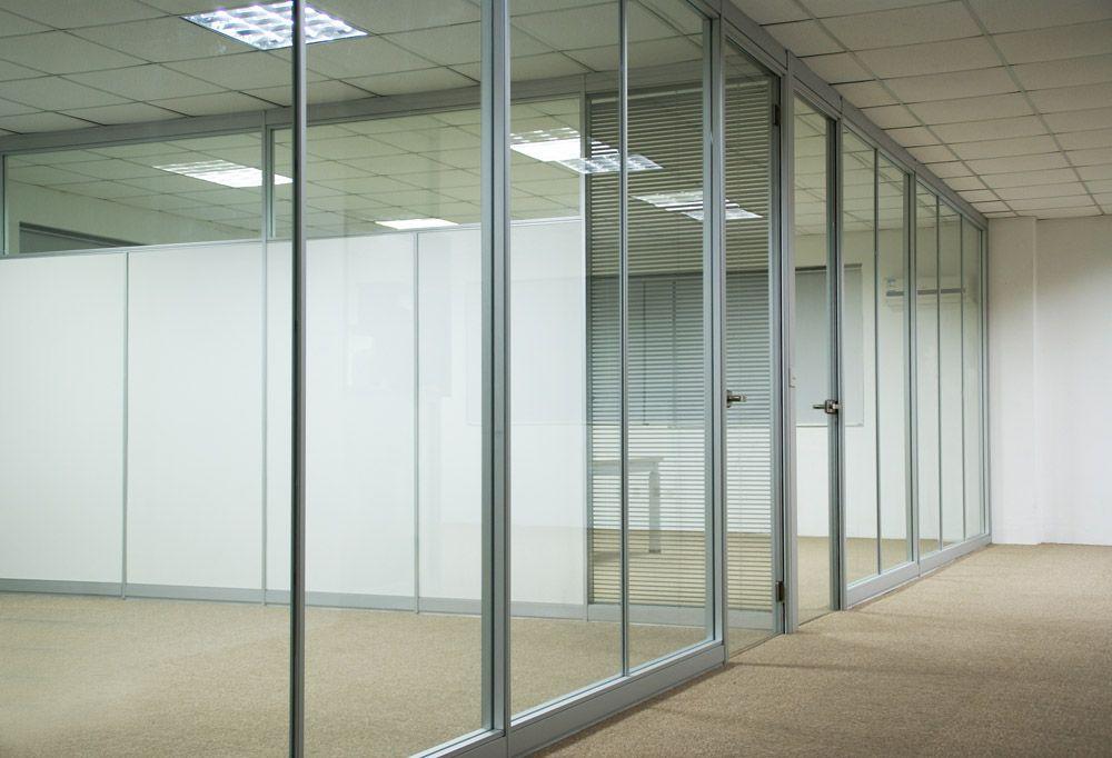 办公室隔断玻璃隔断办公室高隔断铝合金玻璃百叶隔断