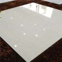 工程瓷砖800*800白色颗粒木纹