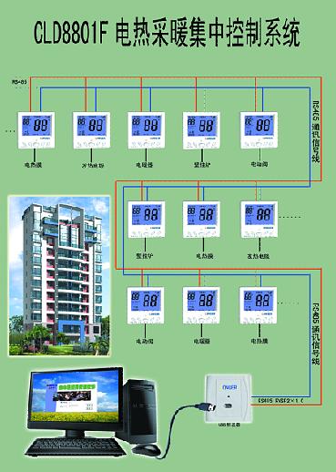 北京学校电采暖电脑集控河北石家庄电脑集中控制