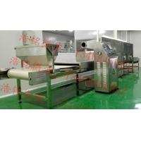 微波烘焙机 微波熟化设备 五谷杂粮烘烤线