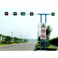 三色一体交通信号灯 灯杆