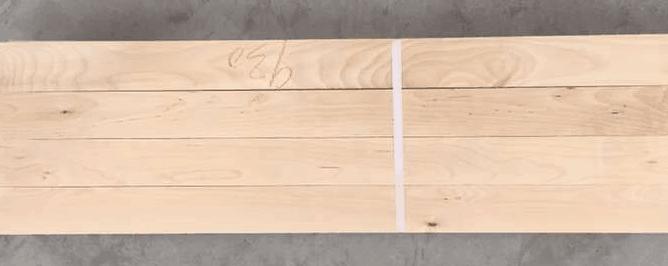 桦木刨光材白漆料
