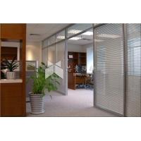 西安双玻百叶办公室玻璃隔断