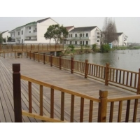 供甘肃榆中防腐木护栏和兰州防腐木栏杆
