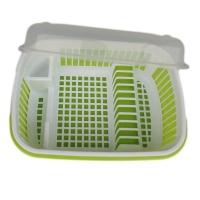 加厚塑料碗柜生产厂家