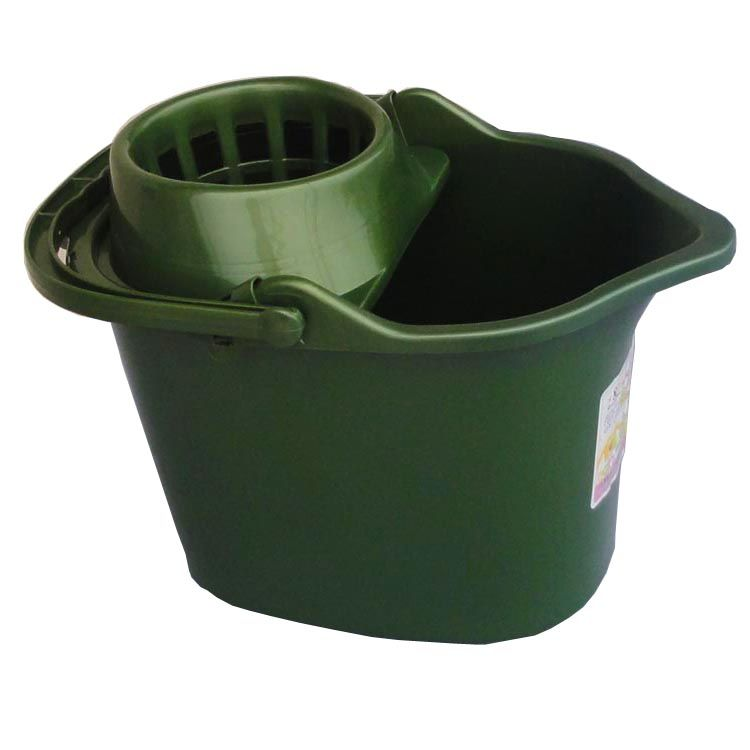 家用加厚塑料拖地桶批发