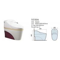 马可波罗卫浴正品彩色智能马桶有水箱一体即热全自动烘干坐便器