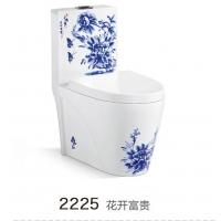 蒙娜丽莎陶瓷马桶卫浴座便彩色坐便器节水彩金坐厕马桶
